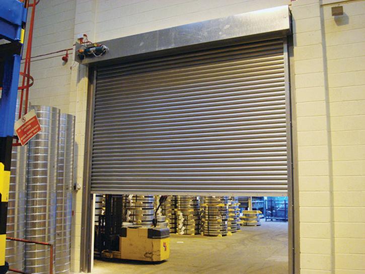 Factory-fire-shutter
