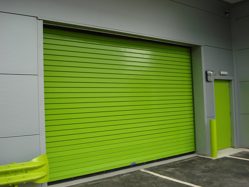 Insulated Roller Shutters Doors